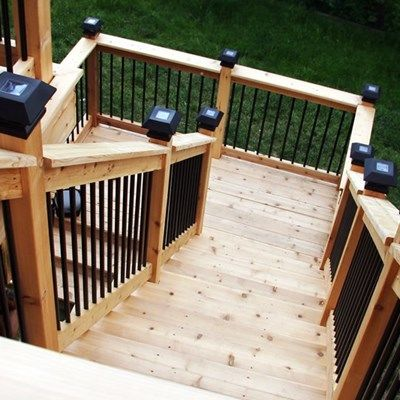 Cedar Deck Design - Picture 6305