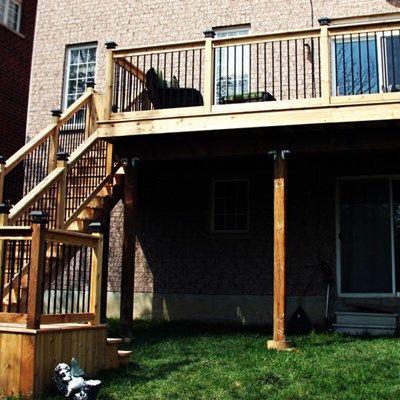 Cedar Deck Design - Picture 6306