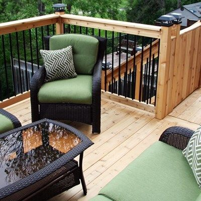Cedar Deck Design - Picture 6308