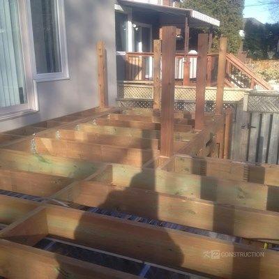 Custom Cedar Deck - Picture 6323