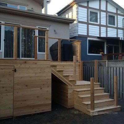 Custom Cedar Deck - Picture 6329