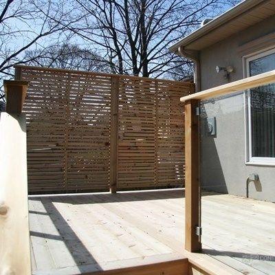 Custom Cedar Deck - Picture 6331