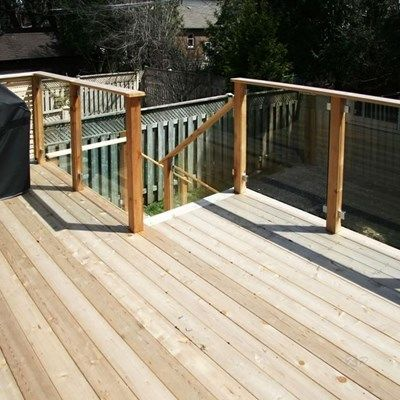 Custom Cedar Deck - Picture 6332