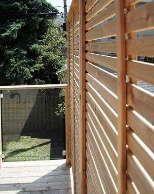 Custom Cedar Deck - Picture 6334