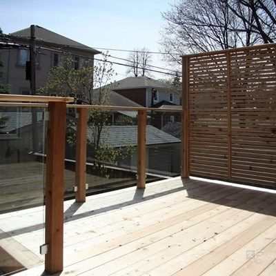 Custom Cedar Deck - Picture 6335