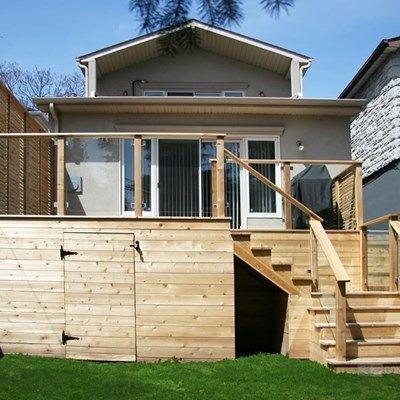 Custom Cedar Deck - Picture 6336