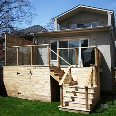 Custom Cedar Deck - Picture 6337