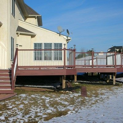 Composite Decks With Metal/Composite Railings - Picture 6439