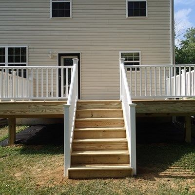 Pressure Treated Wood Decks - Picture 6445