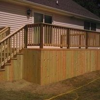 deck out back - Picture 6474