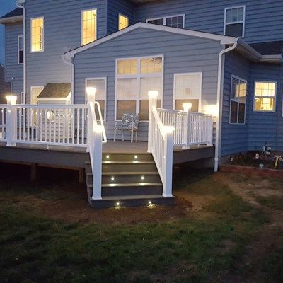 Timbertech Deck-Lighting & Benches - Picture 6506