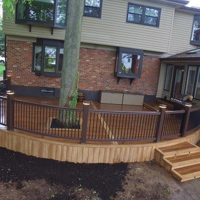 Zuri Curved Deck-Delaware - Picture 6515