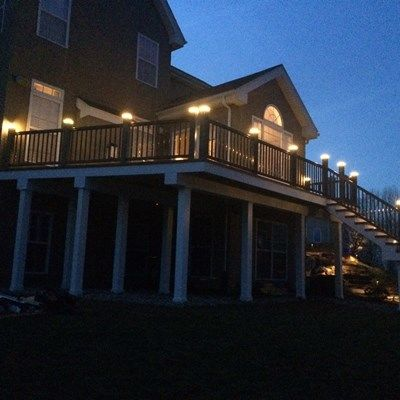 Zuri Deck-Timbertech Rail & Lights. - Picture 6518