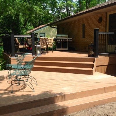 Two Level Deck - Picture 6526