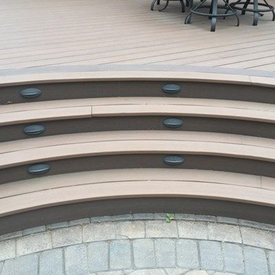Curved Deck - Picture 6528