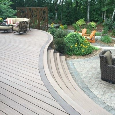 Curved Deck - Picture 6530