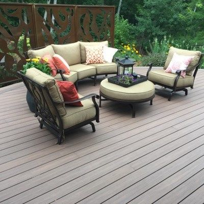 Curved Deck - Picture 6532
