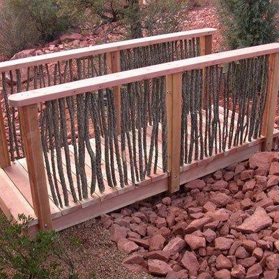 Back yard bridge - Picture 6698