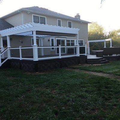 Custom deck in Millstone N.J. - Picture 6701