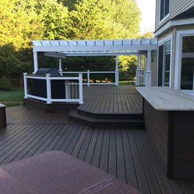 Custom deck in Millstone N.J. - Picture 6705