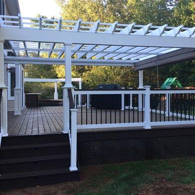 Custom deck in Millstone N.J. - Picture 6706