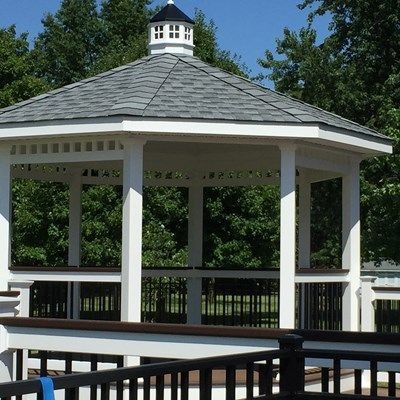 Custom Gazebo deck in West Windsor N.J - Picture 6708