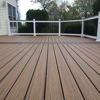 Custom deck in Millstone N.J. - Picture 6713