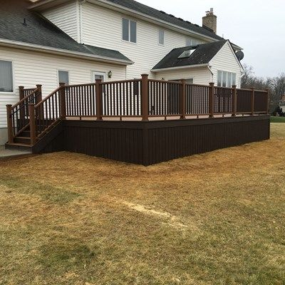 Custom deck in Manalapan NJ - Picture 6715