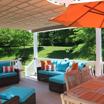 Azek Deck with Vinyl Pergola - Picture 6727