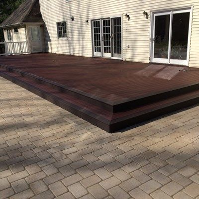 Custom deck in Marlboro NJ - Picture 6733