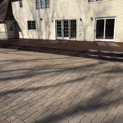 Custom deck in Marlboro NJ - Picture 6734