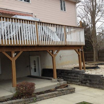 Custom deck in Old Bridge NJ - Picture 6737