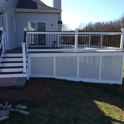 Custom deck in Hillsborough NJ - Picture 6742