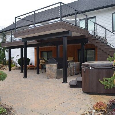 Contemporary Deck - Picture 6884