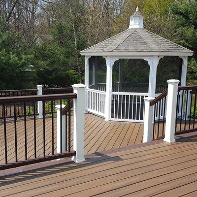 Saugatuck Deck & Gazebo - Picture 7001