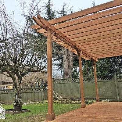 Ground Level Deck & Pergola - Picture 7057