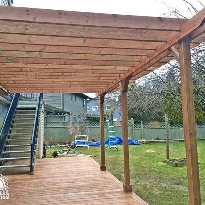 Ground Level Deck & Pergola - Picture 7063