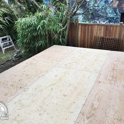 Vinyl Waterproofing & Additional Deck Support - Picture 7066