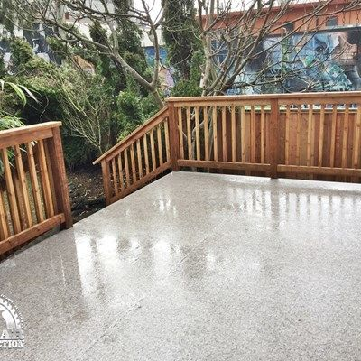 Vinyl Waterproofing & Additional Deck Support - Picture 7067