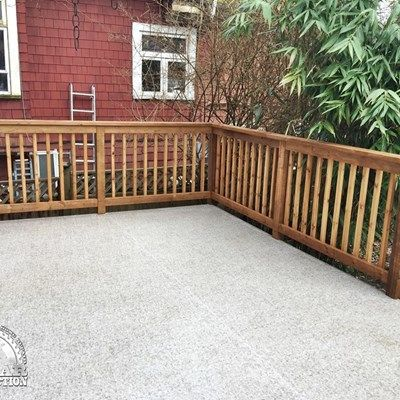 Vinyl Waterproofing & Additional Deck Support - Picture 7070