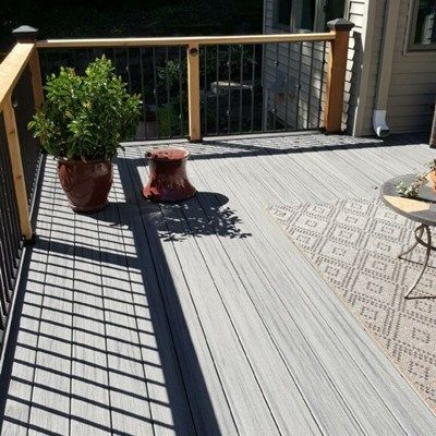 Inver Grove Heights MN Trex Deck - Picture 7282