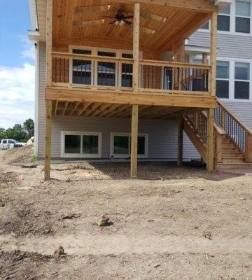 Open Air Cedar Porch - Picture 7292