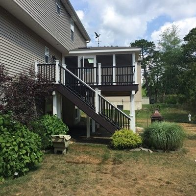 Tuckerton Trex Deck - Picture 7448