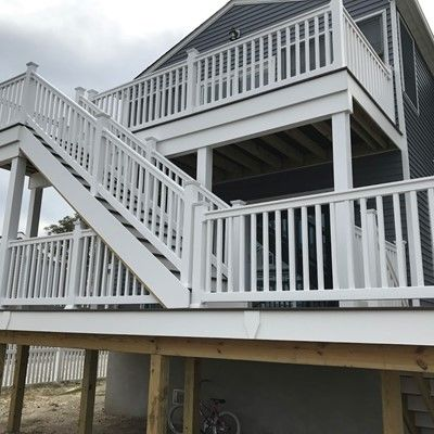 Bayville NJ Trex Deck - Picture 7469