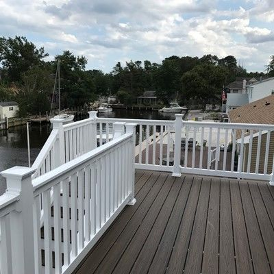 Bayville NJ Trex Deck - Picture 7471