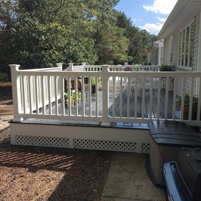 Toms River,NJ Trex Deck - Picture 7477