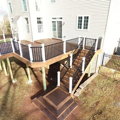 2 Level Deck, Custom Floor Pattern - Picture 7508