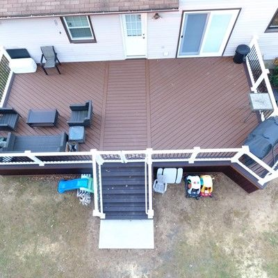 Who said rectangular decks don't look fancy? :) - Picture 7546