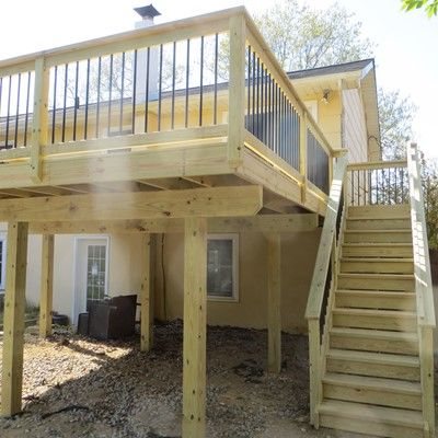 MANAHAWKIN TREATED DECK - Picture 7581