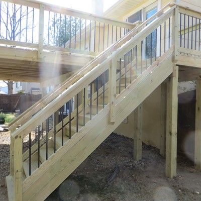 MANAHAWKIN TREATED DECK - Picture 7585